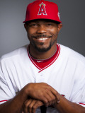 Los Angeles Angels of Anaheim Photo Day, TEMPE, AZ - FEBRUARY 21: Howie Kendrick Photographic Print by Rob Tringali