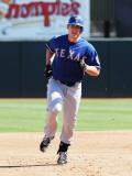 Texas Rangers v Oakland Athletics, PHOENIX, AZ - MARCH 04: Taylor Teagarden Photographic Print by Norm Hall