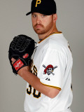 Pittsburgh Pirates Photo Day, BRADENTON, FL - FEBRUARY 20: Chris Resop Photographic Print by J. Meric
