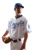 Kansas City Royals Photo Day, SURPRISE, AZ - FEBRUARY 23: Tim Collins Photographic Print by Jonathan Ferrey