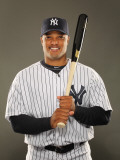 New York Yankees Photo Day, TAMPA, FL - FEBRUARY 23: Robinson Cano Photographic Print by Al Bello