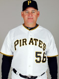 Pittsburgh Pirates Photo Day, BRADENTON, FL - FEBRUARY 20: Euclides Rojas Photographic Print by J. Meric