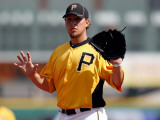Minnesota Twins v Pittsburgh Pirates, BRADENTON, FL - MARCH 02: Sean Gallagher Photographic Print by J. Meric