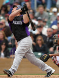 Colorado Rockies v Arizona Diamondbacks, SCOTTSDALE, AZ - FEBRUARY 26: Ty Wiggington Photographic Print by Jonathan Ferrey