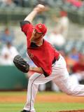 Atlanta Braves v Houston Astros, KISSIMMEE, FL - MARCH 01: Brett Meyers Photographic Print by Mike Ehrmann