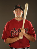 Houston Astros Photo Day, KISSIMMEE, FL - FEBRUARY 24: Jason Castro Photographic Print by Al Bello