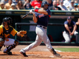 Boston Red Sox v Pittsburgh Pirates, BRADENTON, FL - MARCH 13: Jason Varitek Reproduction photographique par J. Meric
