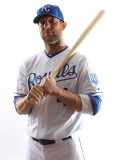 Kansas City Royals Photo Day, SURPRISE, AZ - FEBRUARY 23: Alex Gordon Photographic Print by Jonathan Ferrey