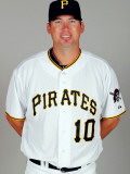 Pittsburgh Pirates Photo Day, BRADENTON, FL - FEBRUARY 20: Garrett Atkins Photographic Print by J. Meric