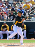 Texas Rangers v Oakland Athletics, PHOENIX, AZ - MARCH 04: Hideki Matsui Photographic Print by Norm Hall