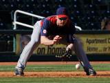 Cleveland Indians v Cincinnati Reds, GOODYEAR, AZ - FEBRUARY 28: Jack Hannahan Photographic Print by Norm Hall