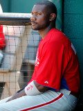Philadelphia Phillies v Pittsburgh Pirates, BRADENTON, FL - MARCH 12: Ryan Howard Photographic Print by J. Meric