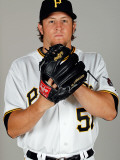 Pittsburgh Pirates Photo Day, BRADENTON, FL - FEBRUARY 20: Daniel Moskos Photographic Print by J. Meric