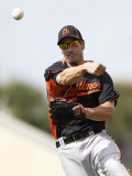 Baltimore Orioles v Detroit Tigers, LAKELAND, FL - MARCH 04: Nick Green Photographic Print by Leon Halip