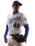 Kansas City Royals Photo Day, SURPRISE, AZ - FEBRUARY 23: Joakim Soria Photographie par Jonathan Ferrey
