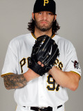 Pittsburgh Pirates Photo Day, BRADENTON, FL - FEBRUARY 20: Joe Beimel Photographic Print by J. Meric