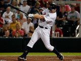 Boston Red Sox v Minnesota Twins, FORT MYERS, FL - FEBRUARY 27: Jim Thome Photographic Print by J. Meric