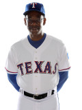 Texas Rangers Photo Day, SURPRISE, AZ - FEBRUARY 25: Ron Washington Photographic Print by Jonathan Ferrey