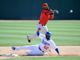Los Angeles Angels of Anaheim v Los Angeles Dodgers, PHOENIX, AZ Photographie par Harry How