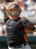 Baltimore Orioles v Detroit Tigers, LAKELAND, FL - MARCH 04: Craig Tatum Photographic Print by Leon Halip