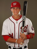 Washington Nationals Photo Day, VIERA, FL - FEBRUARY 25: Bryce Harper Fotografie-Druck von Al Bello