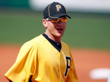 Minnesota Twins v Pittsburgh Pirates, BRADENTON, FL - MARCH 02: Lyle Overbay Photographic Print by J. Meric