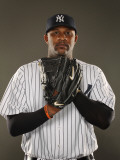 New York Yankees Photo Day, TAMPA, FL - FEBRUARY 23: CC Sabathia Photographic Print by Al Bello