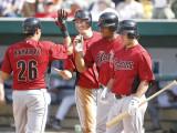 Houston Astros v Detroit Tigers, LAKELAND, FL Photographic Print by Leon Halip