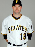 Pittsburgh Pirates Photo Day, BRADENTON, FL - FEBRUARY 20: Neil Walker Photographic Print by J. Meric