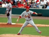 St. Louis Cardinals v Florida Marlins, JUPITER, FL - MARCH 06: Ryan Franklin Photographic Print by Marc Serota