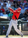 Cincinnati Reds v Texas Rangers, SURPRISE, AZ - MARCH 11: Joey Votto Photographic Print by Christian Petersen