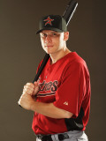 Houston Astros Photo Day, KISSIMMEE, FL - FEBRUARY 24: Clint Barmes Photographic Print by Al Bello
