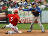 Los Angeles Dodgers v Los Angeles Angels of Anaheim, TEMPE, AZ Photographic Print by Norm Hall
