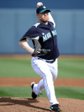 Texas Rangers v Seattle Mariners, PEORIA, AZ - MARCH 01: Nate Robertson Photographic Print by Harry How