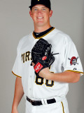 Pittsburgh Pirates Photo Day, BRADENTON, FL - FEBRUARY 20: Mike Crotta Photographic Print by J. Meric