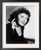 Edith Piaf, French Ballad Singer in Publicity Still from 1947 Art