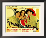 Women of All Nations, Edmund Lowe, Greta Nissen, Victor Mclaglen, 1931 Posters