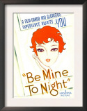 Be Mine Tonight (Aka Tell Me Tonight), Midget Window Card, 1932 Print