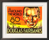 Around the World in 80 Minutes, Douglas Fairbanks, 1931 Art