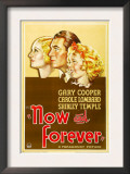 Now and Forever, Carole Lombard, Gary Cooper, Shirley Temple, 1934 Prints