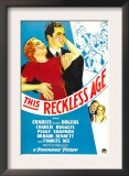 This Reckless Age, Peggy Shannon, Charles 'Buddy' Rogers, Richard Bennett, Frances Dee, 1932 Print