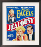 Jealousy, Jeanne Eagels, Fredric March on Window Card, 1929 Prints
