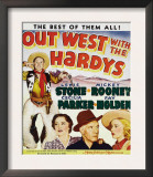 Out West with the Hardys, 1938 Posters