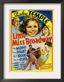 Little Miss Broadway, Edna May Oliver, Shirley Temple, Jimmy Durante, 1938 Prints