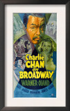 Charlie Chan on Broadway, Top Center: Warner Oland, 1937 Prints
