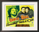 Annabel Takes a Tour, Lucille Ball, Jack Oakie, Lucille Ball (Far Right), 1938 Prints
