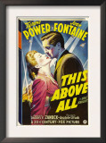 This Above All, Joan Fontaine, Tyrone Power, 1942 Art