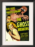 The Ghost Breakers, Bob Hope, Paulette Goddard, 1940 Posters