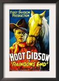 Rainbow's End, Hoot Gibson, 1935 Art