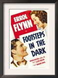 Footsteps in the Dark, Errol Flynn, Brenda Marshall, 1941 Prints